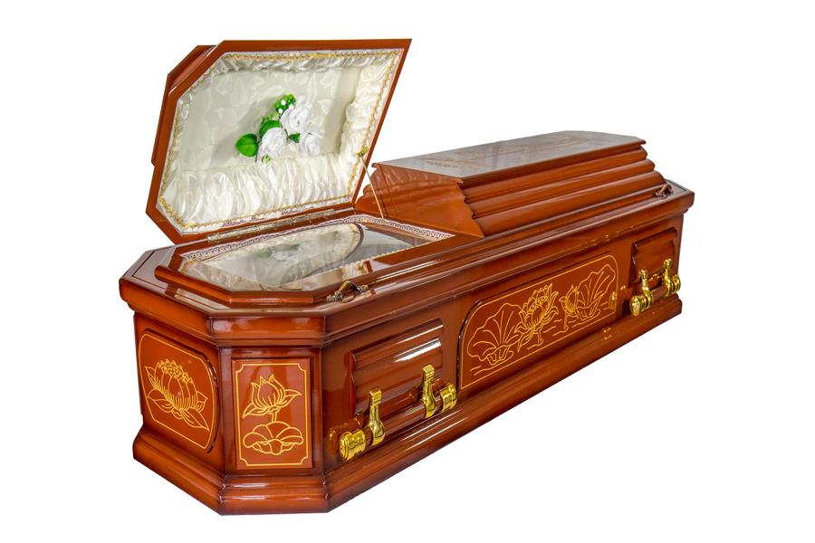 buddhist coffin