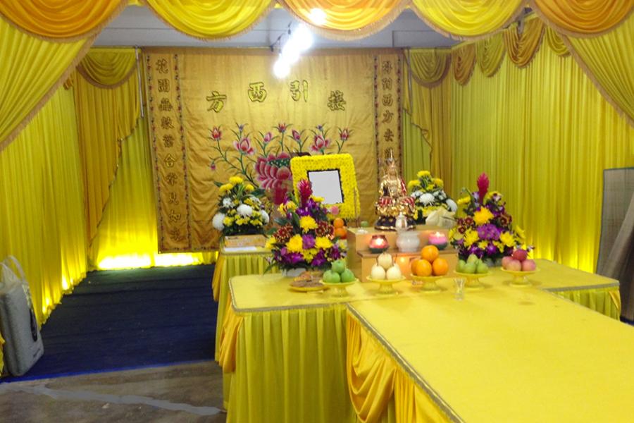 buddhist funeral void deck