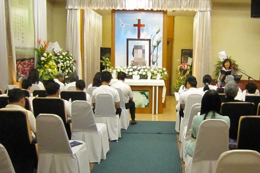 christian church funeral