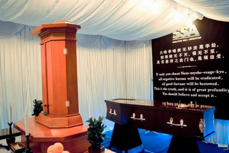 soka gakkai funeral